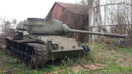 Tank for sale on eBay, some assembly required