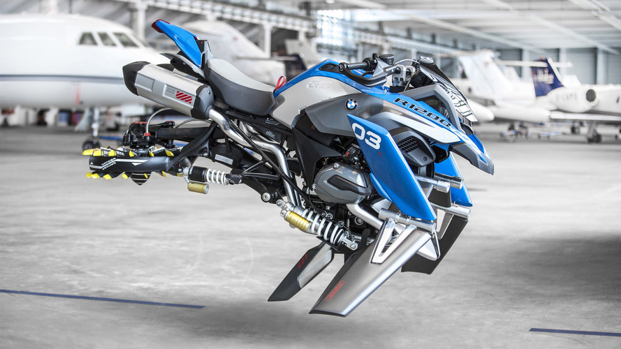 BMW and Lego made this insanely cool Hover Ride Design Concept