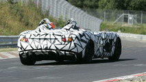 Mercedes-McLaren SLR Speedster Spy Video