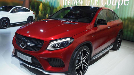 Mercedes GLE 450 AMG Coupe is rivalling BMW X6 in Geneva