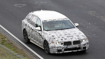Next generation BMW 5-Series Touring spied testing at the Nurburgring