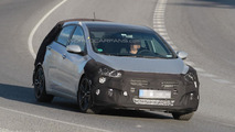 Hyundai i30 GT spied for the first time