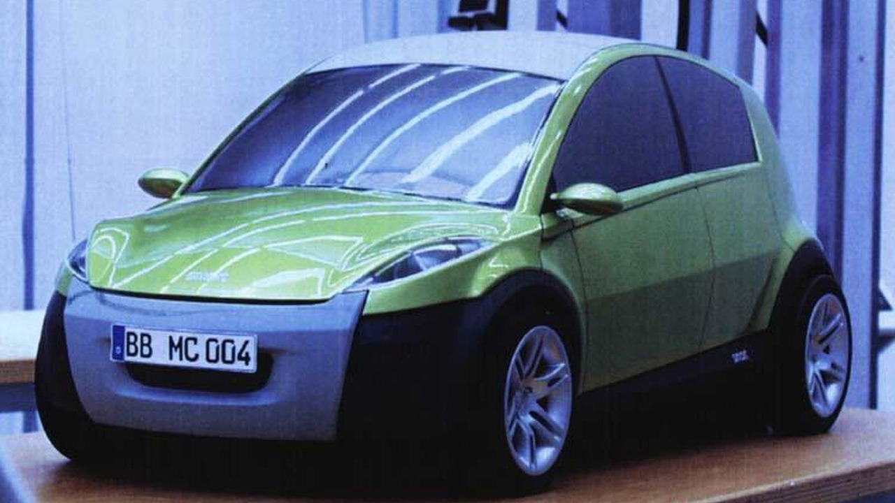 Smart forfour design prototype developed in 1999, 750, 19.05.2010