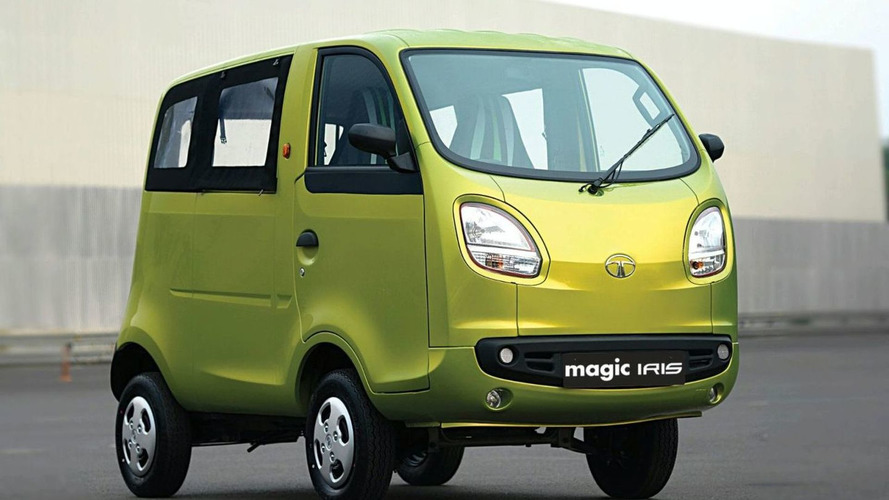 Tata Magic Iris Revealed in New Delhi - Targets Cyclists