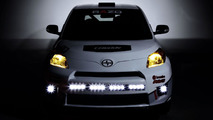 Scion xD rally car 24.1.2013