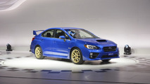 2015 Subaru WRX STI live at 2014 NAIAS