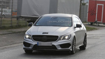 Mercedes CLA 45 AMG Shooting Brake spy photo