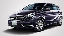 Mercedes-Benz B180 Northern Lights Black limited edition launched in Japan