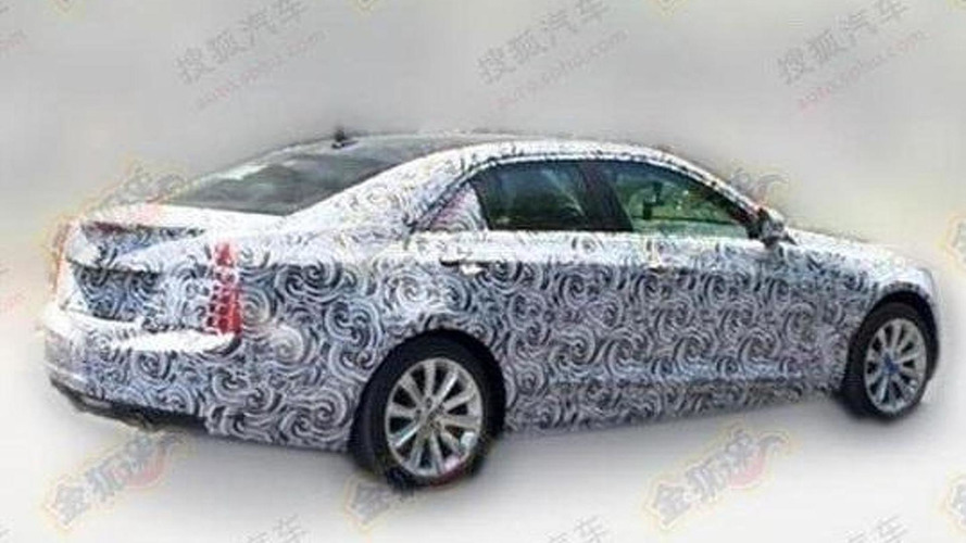 China-only Cadillac ATS-L spied flaunting stretched wheelbase