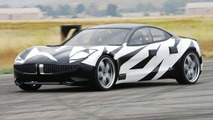 Production Fisker Karma Caught Testing