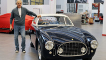 Ferrari brings back to life fire-damaged 225E [video]