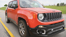 2017 Jeep Compass & Patriot successor spied
