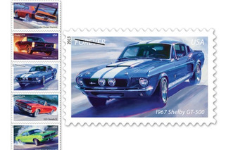 Muscle Car Stamps Make Postage Relevant Again