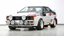 Audi Quattro A1 Group B rally car to be auctioned