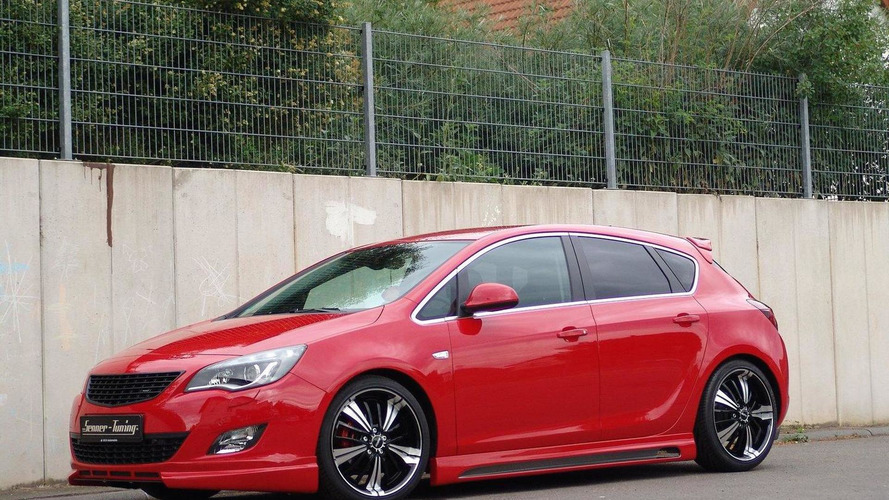 Hot Opel Astra by Senner Tuning