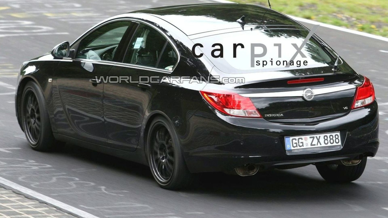 opel insignia opc caught testing. Black Bedroom Furniture Sets. Home Design Ideas