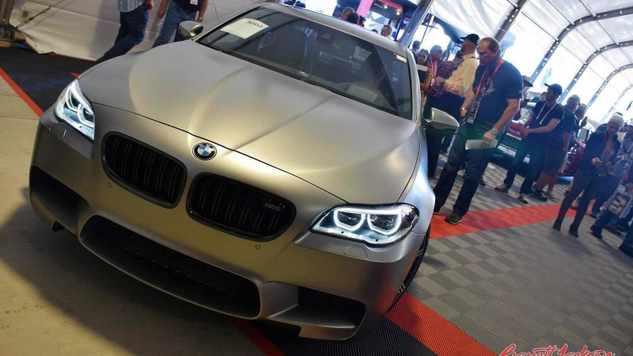 Last BMW M5 30 Jahre M5 US-spec auctioned for $700,000