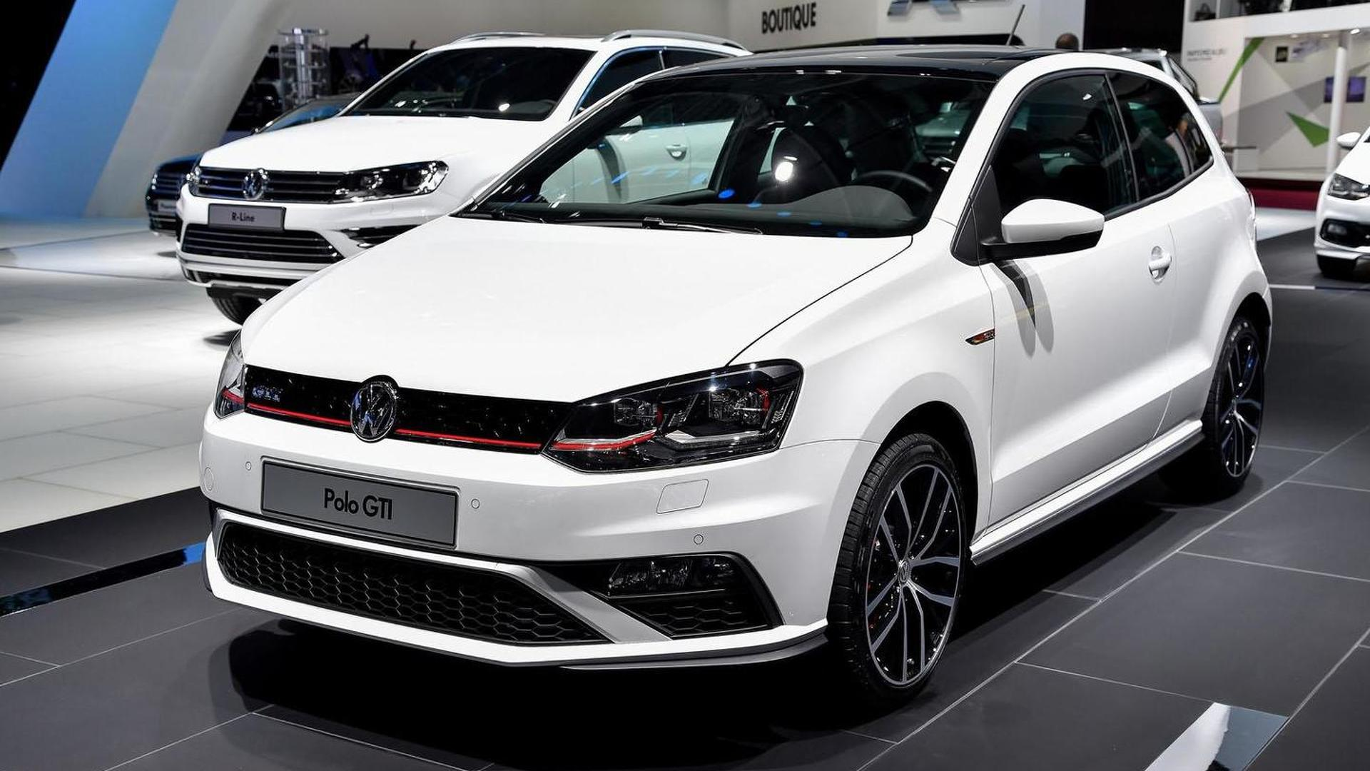 2015 Volkswagen Polo GTI debuts in Paris with a new engine
