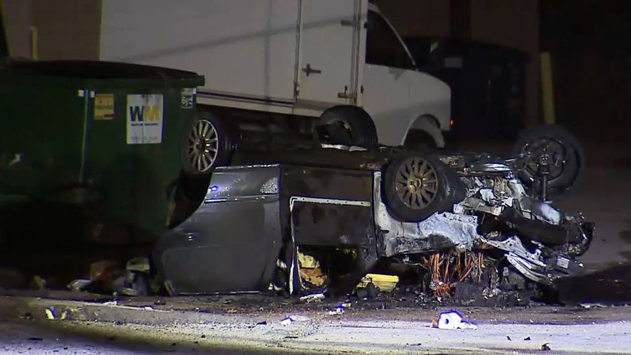 Toronto biker gang road rage results in assault, roll-over crash and fire