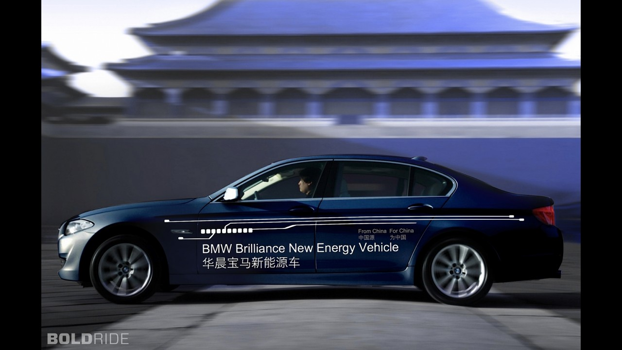 BMW Plug-In Hybrid Sedan Prototype