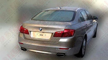 2014 BMW 5-Series facelift / Auto.163.com