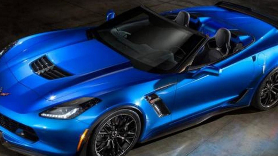 Chevrolet Corvette Z06 Convertible leaked?
