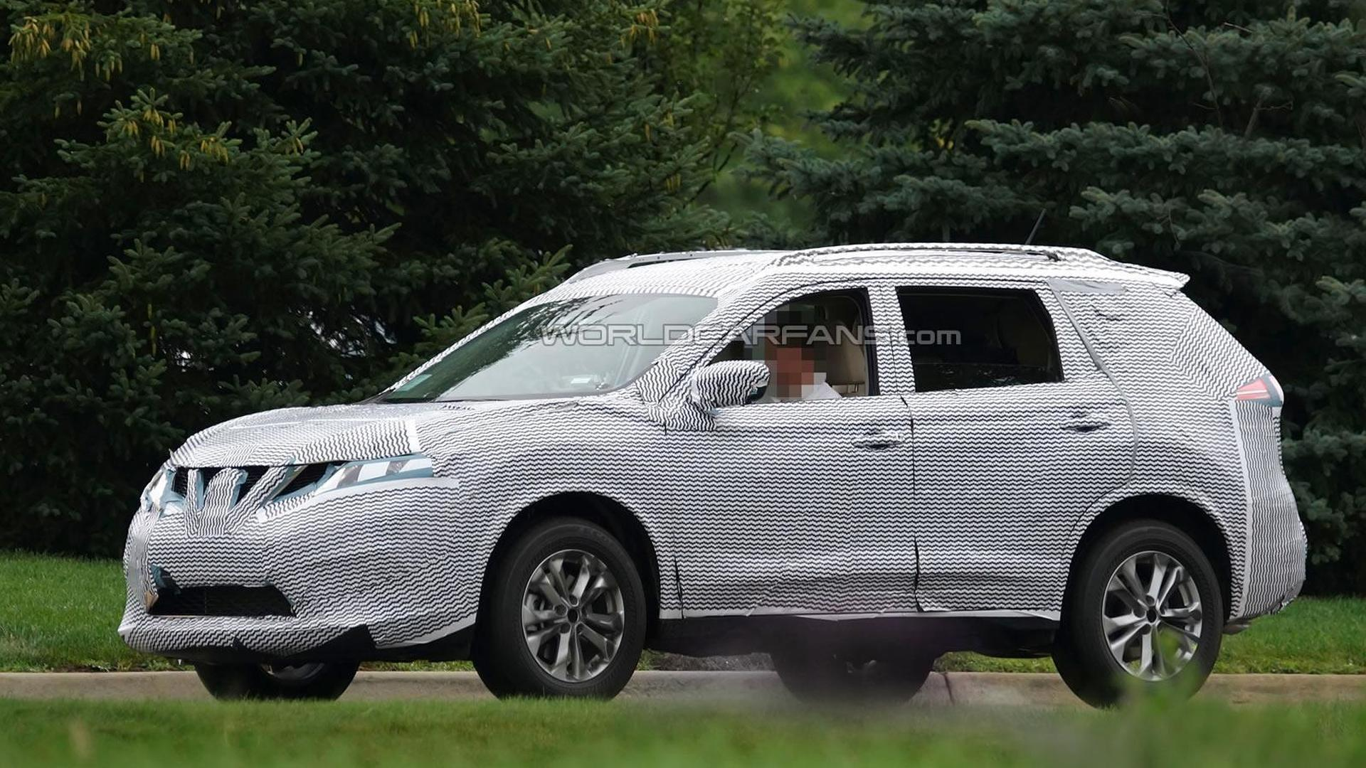 2015 nissan x trail rogue spied testing in united states. Black Bedroom Furniture Sets. Home Design Ideas