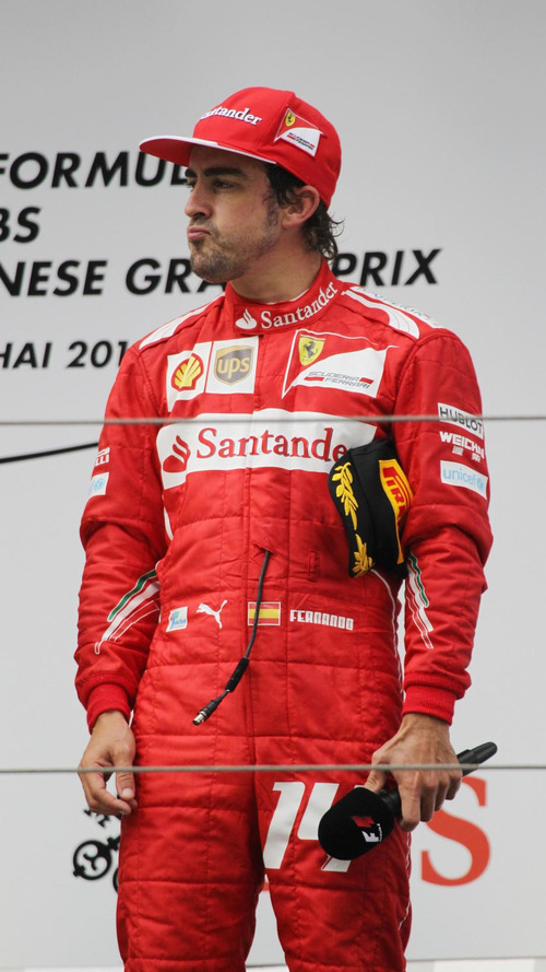 Alonso says China podium belongs to Domenicali