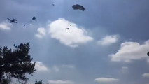 Humvees destroyed in failed airdrop
