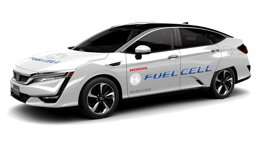 Autonomous Honda Clarity fuel cell revealed