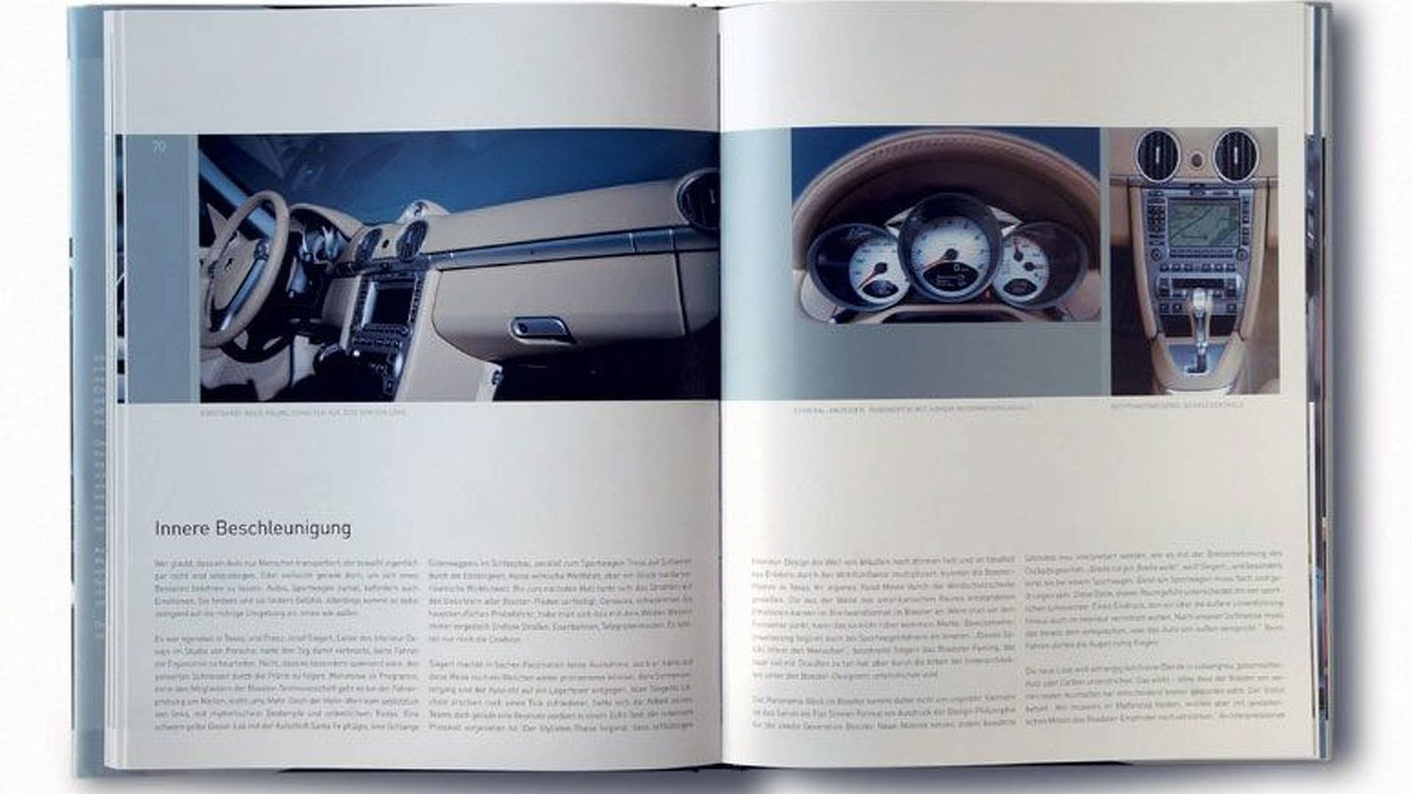 Book of the New Porsche Roadster