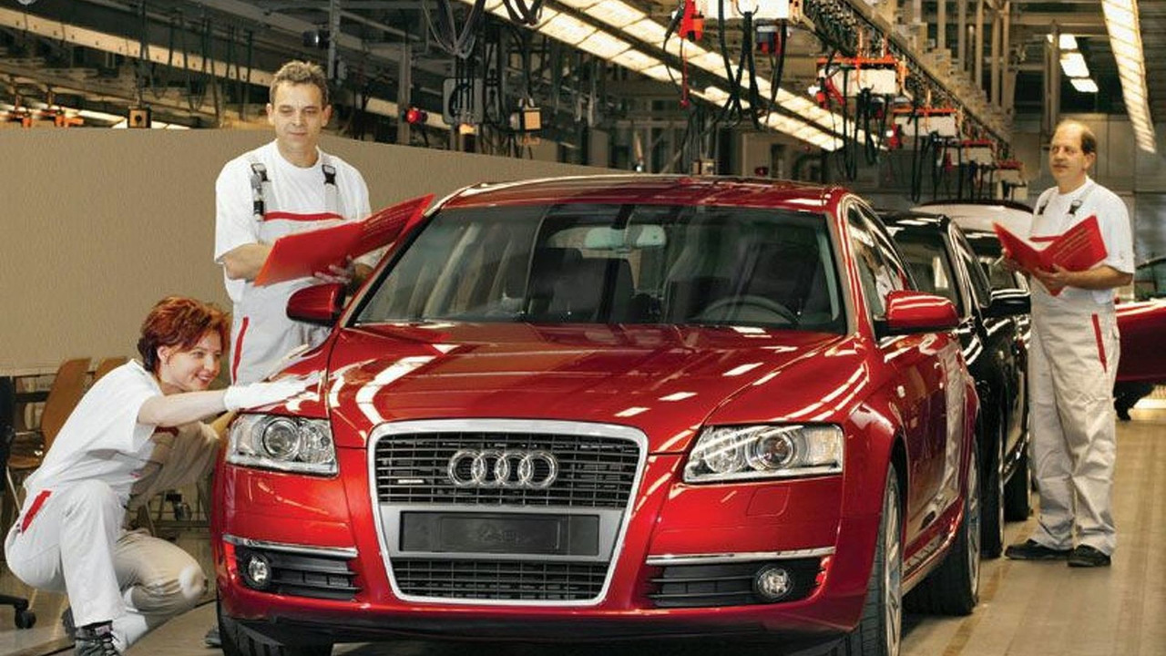 New Audi A6 production