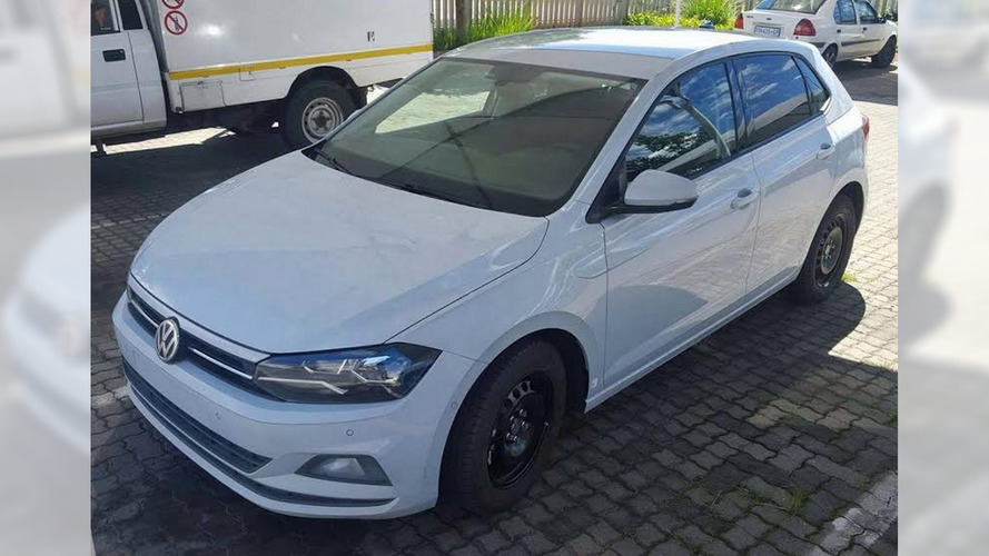 2017 VW Polo spotted almost uncovered