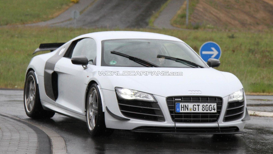 Possible Audi R8 GT Track Edition spied