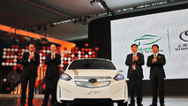 Chevrolet Sail EV concept unveiled in China