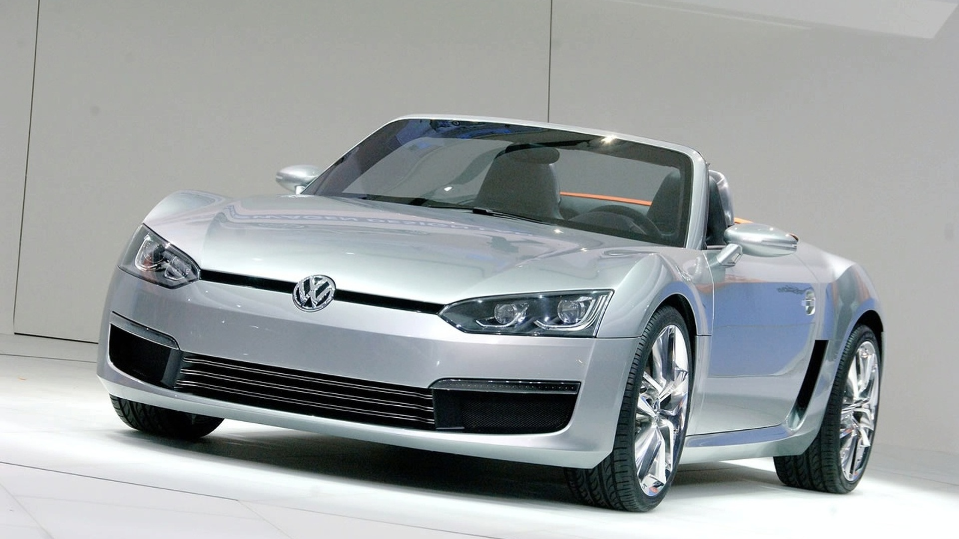 Volkswagen doesn't have plans for BlueSport-like small sports car