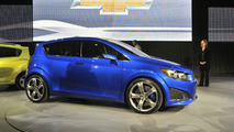 Chevy Sonic RS coming in 2012 - report