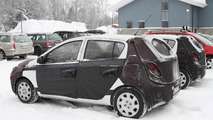 2012 Hyundai i20 Facelift prototype spy photo