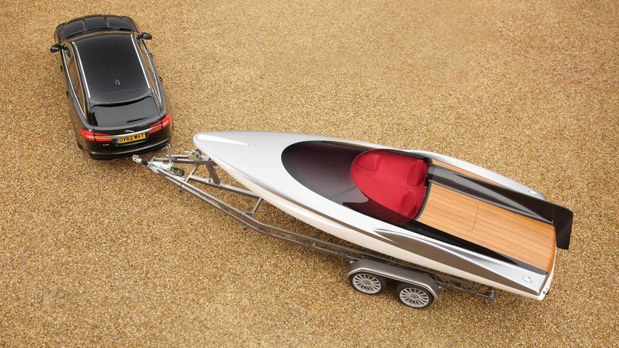 Jaguar speed boat concept introduced