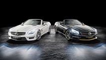 Rosberg and Hamilton create Mercedes-Benz SL63 AMG World Championship 2014 Collector's Edition