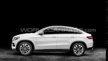 Mercedes GLE Coupe leaked, debuts in Detroit