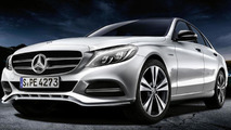 Mercedes C-Class with genuine accessories
