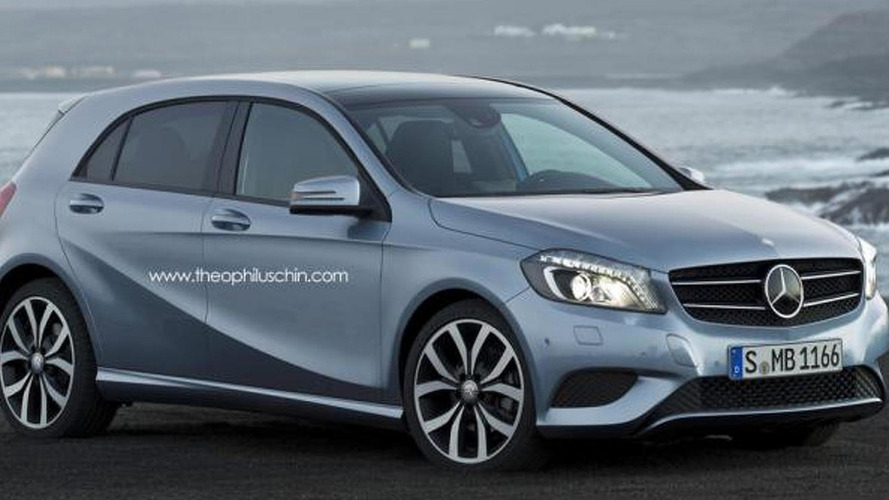 Mercedes-Benz MINI rival rendered