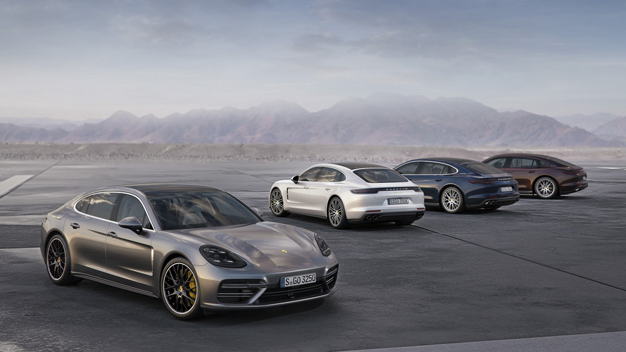 Porsche Panamera Executive to stretch out in L.A. with extended wheelbase