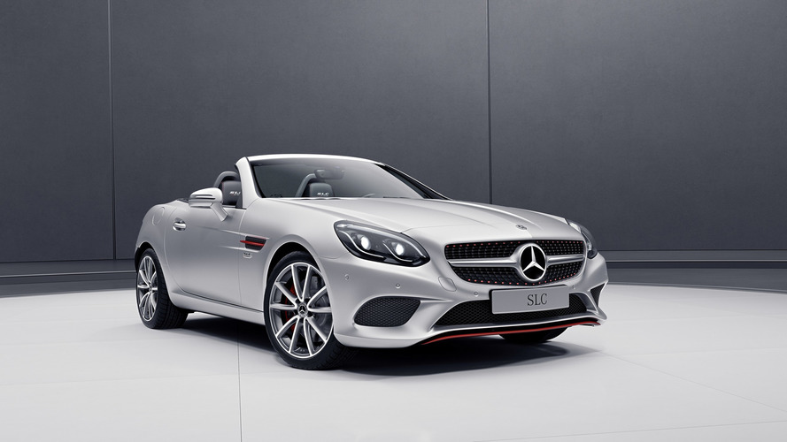Mercedes SLC, SL get extra pizzazz with new special editions