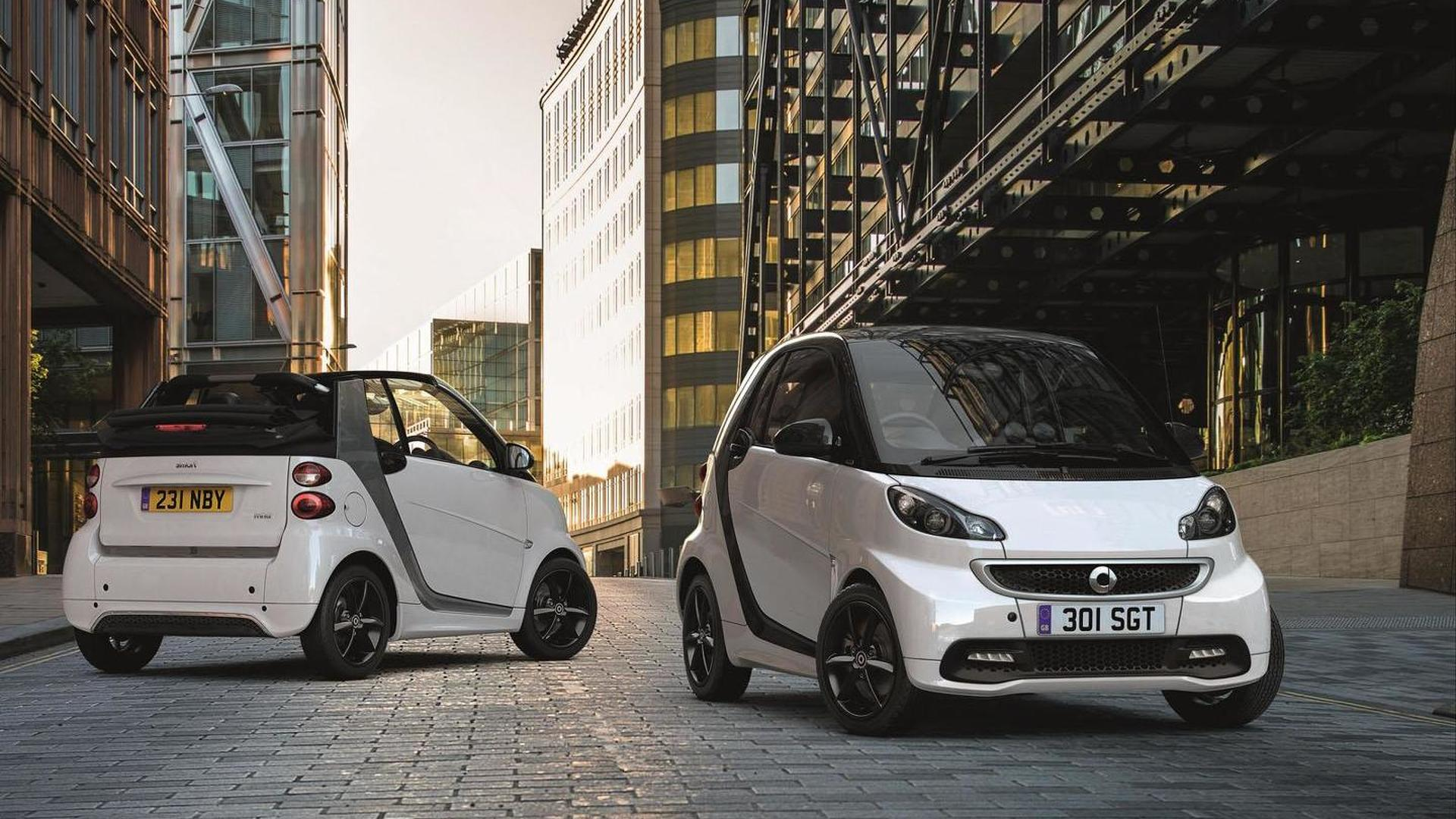 Smart ForTwo GrandStyle Edition revealed for the U.K.