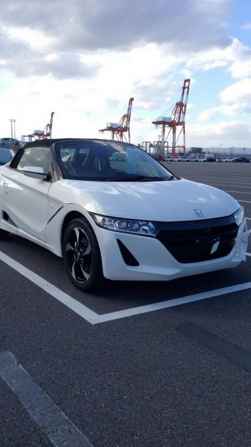 Honda S660 photographed in production guise