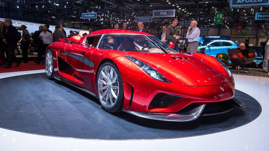 Koenigsegg Regera arrives in Geneva with 1500+ hp