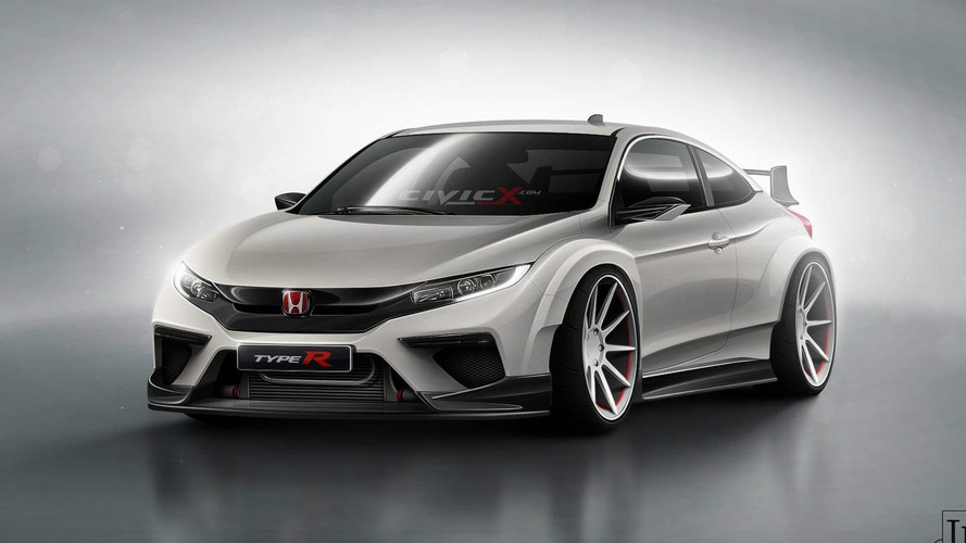 Next generation Honda Civic Coupe Type R render has the wow factor