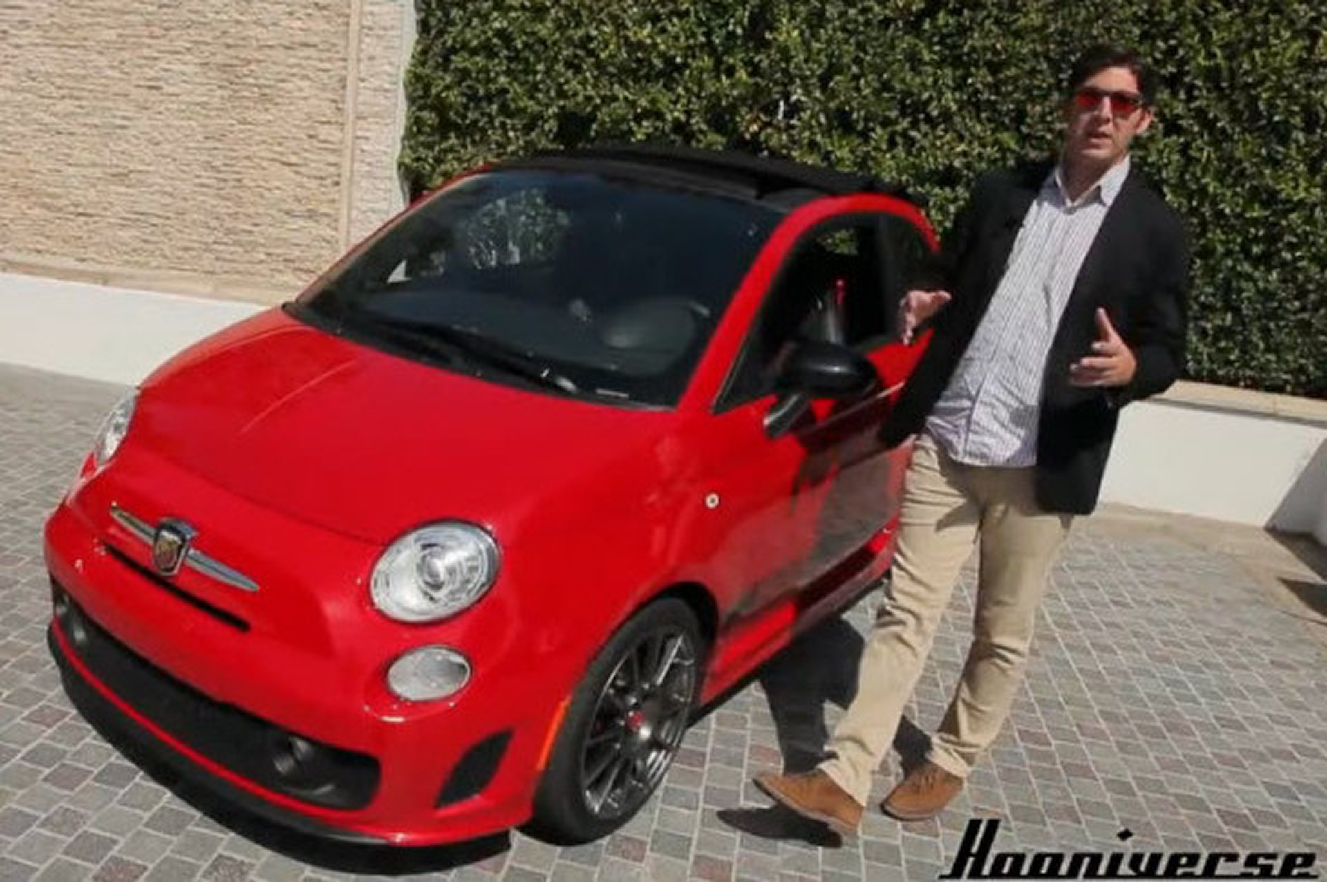Hooniverse Toys Around in a Fiat 500C Abarth